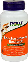 Supplements - NOW S. Boulardii 5 Billion 60 Vcaps
