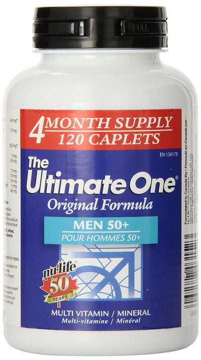 Supplements - Nu-Life Ultimate One - Men 50+  120 Caps