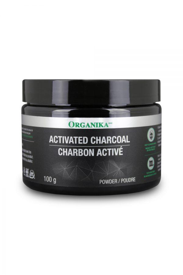 Supplements - Organika - Activated Charcoal Powder, 100g