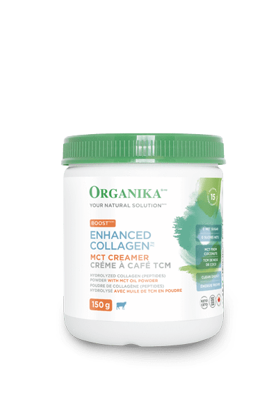 Supplements - Organika - Enhanced Collagen Boost With MCT, 150g