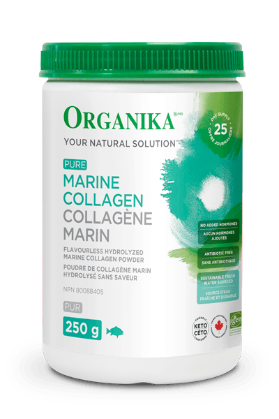 Supplements - Organika - Marine Collagen, 250g