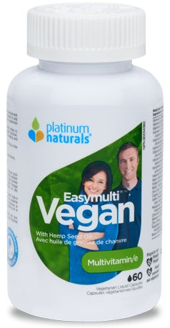 Supplements - Platinum - Easy Multi Vegan, 60 Capsules