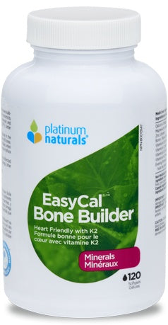 Supplements - Platinum - Easycal Bone Builder, 120 Capsules