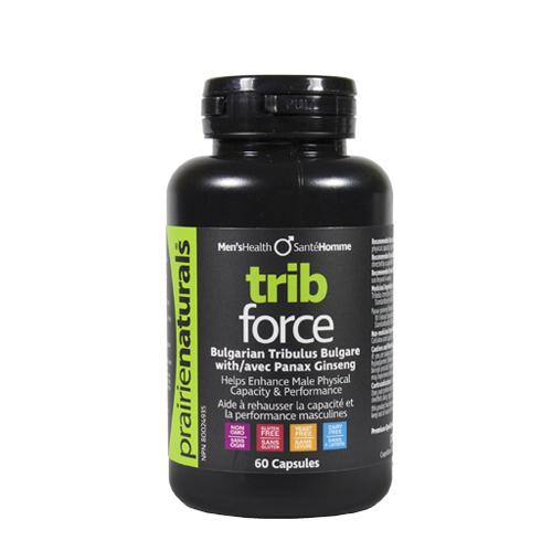 Supplements - Prairie Naturals - Trib-Force, 60 Caps