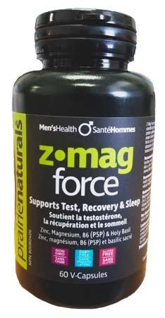 Supplements - Prairie Naturals - Z-Mag Force, 60 Vcaps