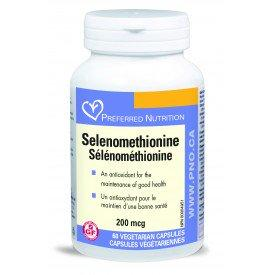 Supplements - Preferred Nutrition - Selenomethionine, 60 Capsules