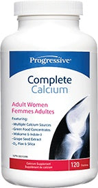 Supplements - Progressive Complete Calcium Adult Women - 120 Caps