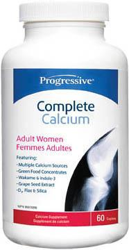 Supplements - Progressive Complete Calcium Adult Women - 60 Caps