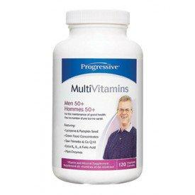 Supplements - Progressive - Multi Vitamin Men 50+, 60 Capsules