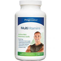 Supplements - Progressive - Multivitamin Active Men, 150 Vegetable Capsules