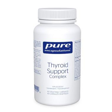 Supplements - Pure Encapsulations Thyroid Support Complex - 60 Caps