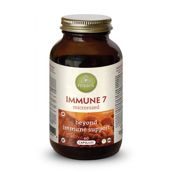 Supplements - Purica Immune-7 Mushroom - 60 Caps