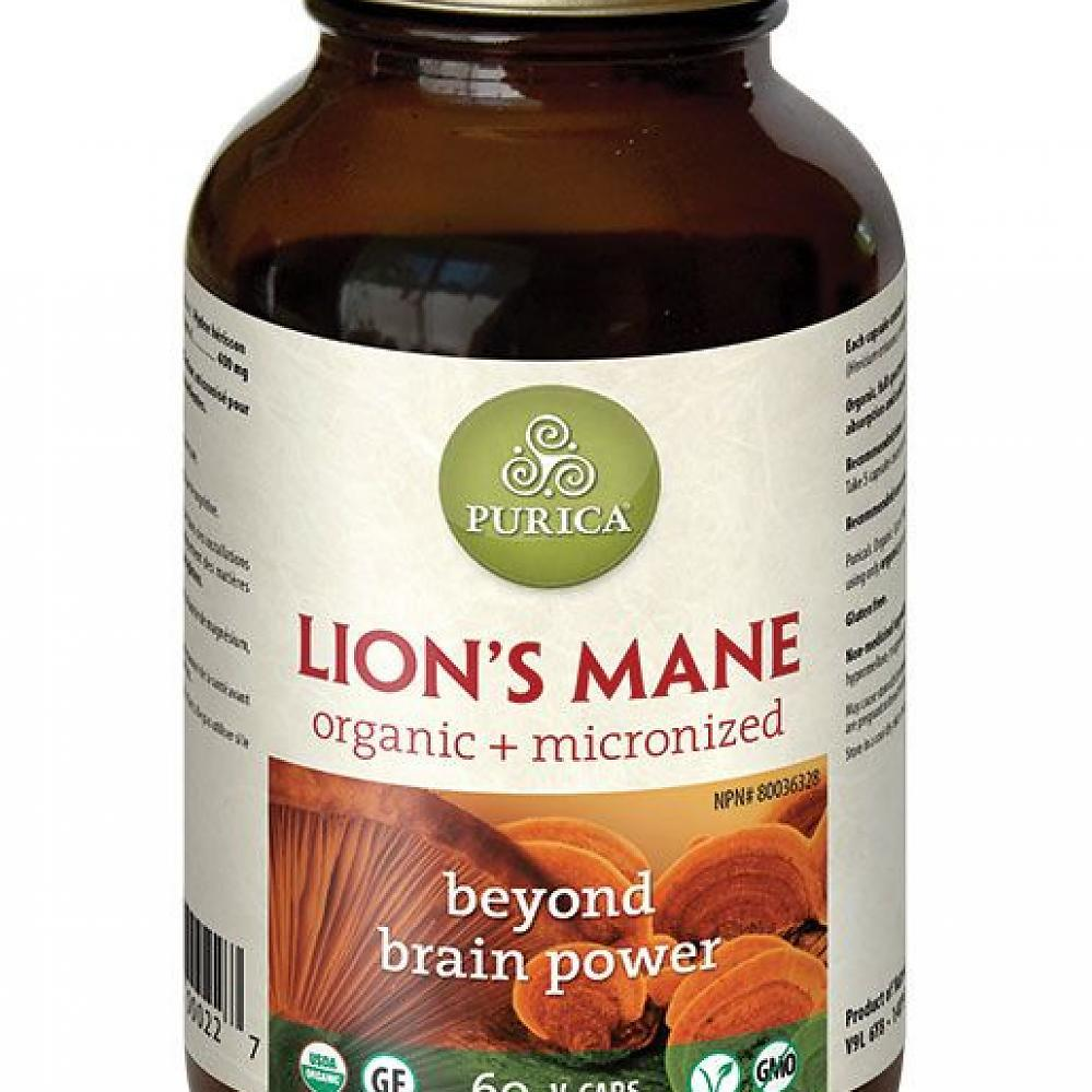 Supplements - Purica Lion's Mane Mushroom