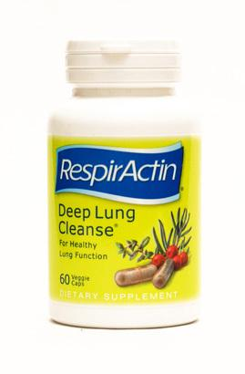 Supplements - RespirActin Deep Lung Cleanse 60 Caps