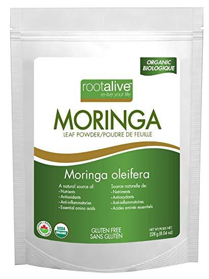 Supplements - Rootalive Moringa Powder - 228g