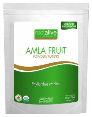 Supplements - Rootalive - Organic Amla Fruit Powder, 200g