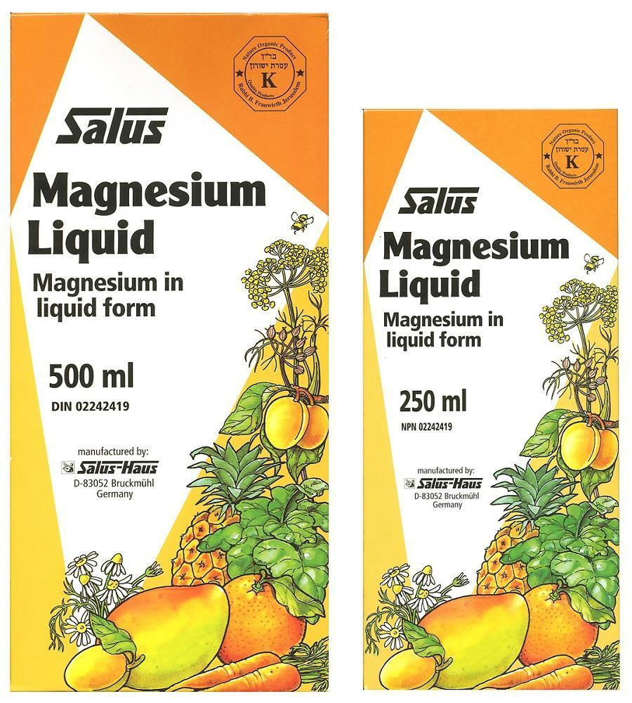 Supplements - Salus Magnesium Liquid Duo Pack 500ml + 250ml
