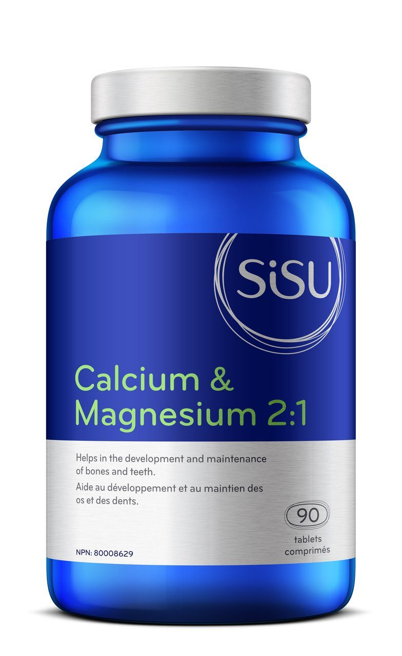 Supplements - Sisu Calcium & Magnesium 2:1  - 90 Tabs