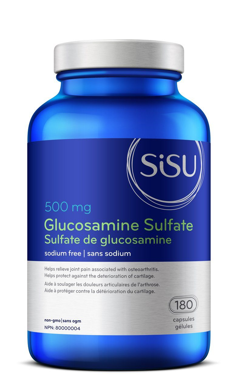 Supplements - Sisu Glucosamine Sulfate - 180 Caps