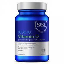 Supplements - Sisu Vitamin D 90 Tabs