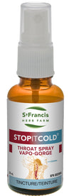Supplements - St. Francis Stop It Cold Throat Spray - 30ml