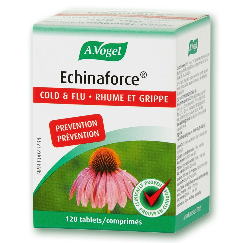 Supplements & Vitamins - A.Vogel - Echinaforce®, 120 Tabs