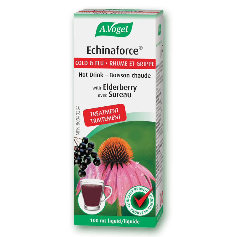 Supplements & Vitamins - A.Vogel - Echinaforce® Extra Strength Hot Drink, 100ml