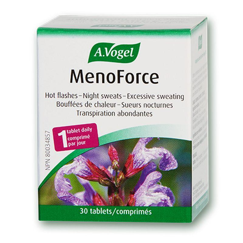Supplements & Vitamins - A.Vogel - MenoForce, 30 Tabs