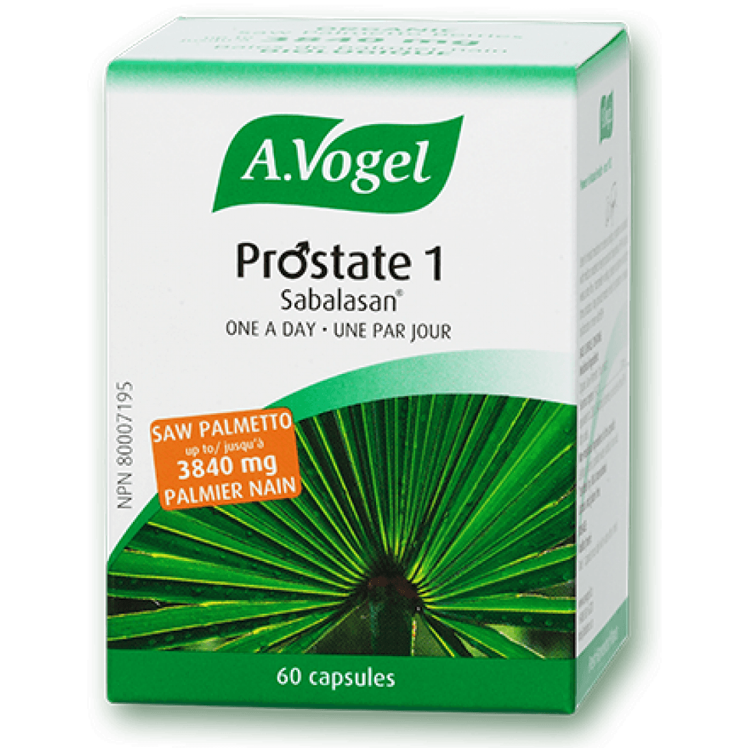 Supplements & Vitamins - A.Vogel - Prostate 1, 60 Caps