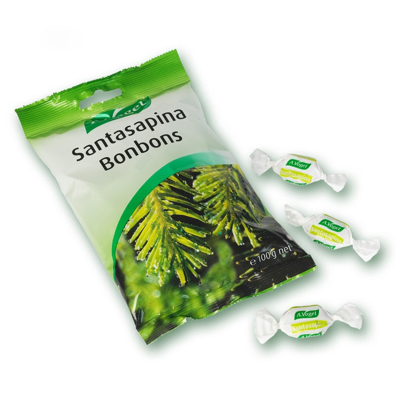 Supplements & Vitamins - A.Vogel - Santasapina Bonbons, 100 G