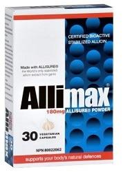 Supplements & Vitamins - Allimax - Allimax 100% Allicin, 30 Caps