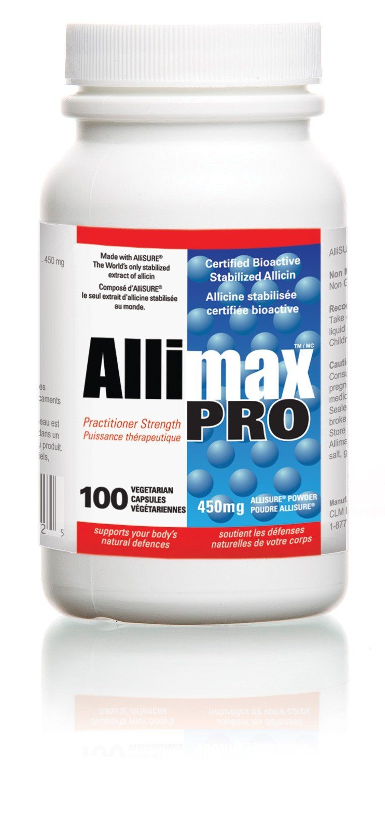 Supplements & Vitamins - Allimax - Allimax Pro, 100 Caps