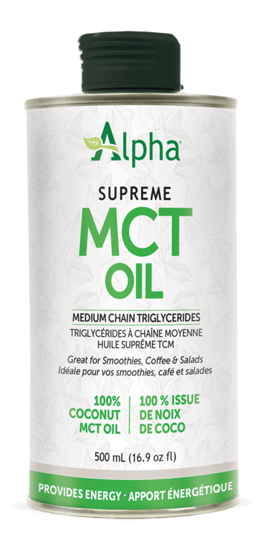 Supplements & Vitamins - Alpha Health - MCT Oil, 500ml