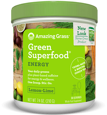 Supplements & Vitamins - Amazing Grass - Lemon Lime Energy Superfood, 210 G