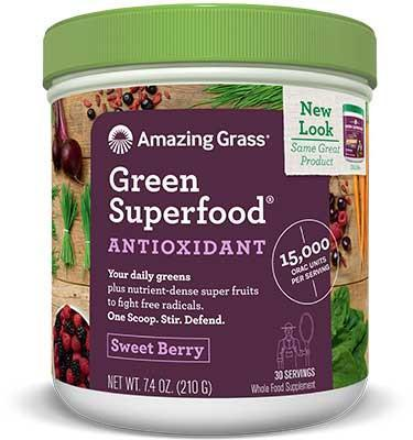 Supplements & Vitamins - Amazing Grass - Orac Green Superfood, 210 G