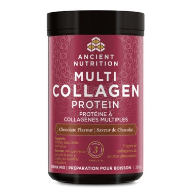 Supplements & Vitamins - Ancient Nutrition -  Multi Collagen Protein - Chocolate, 286g