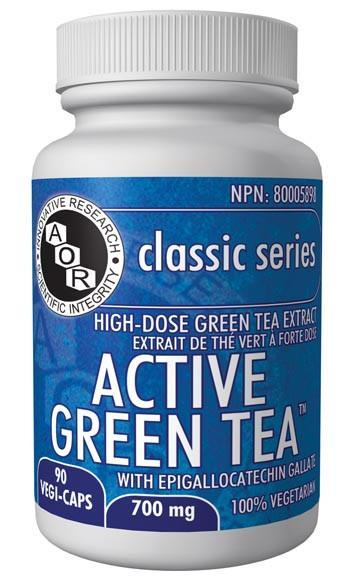 Supplements & Vitamins - AOR - Active Green Tea, 90cap