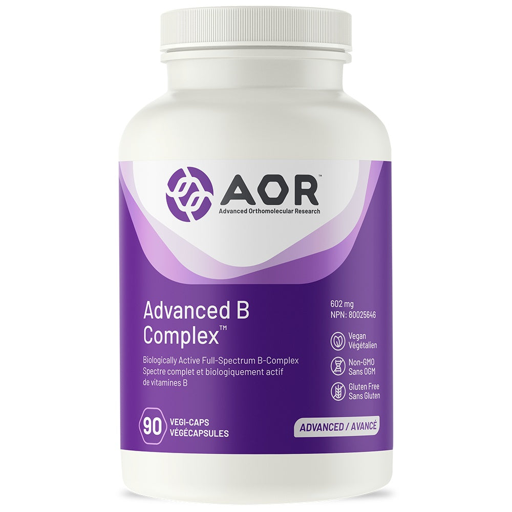 Supplements & Vitamins - AOR - Advanced B Complex,  90 Vcap