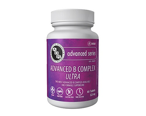 Supplements & Vitamins - AOR - Advanced B Complex Ultra, 60 TABS