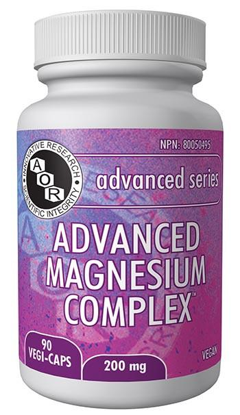Supplements & Vitamins - AOR - Advanced Magnesium Complex, 90vcaps
