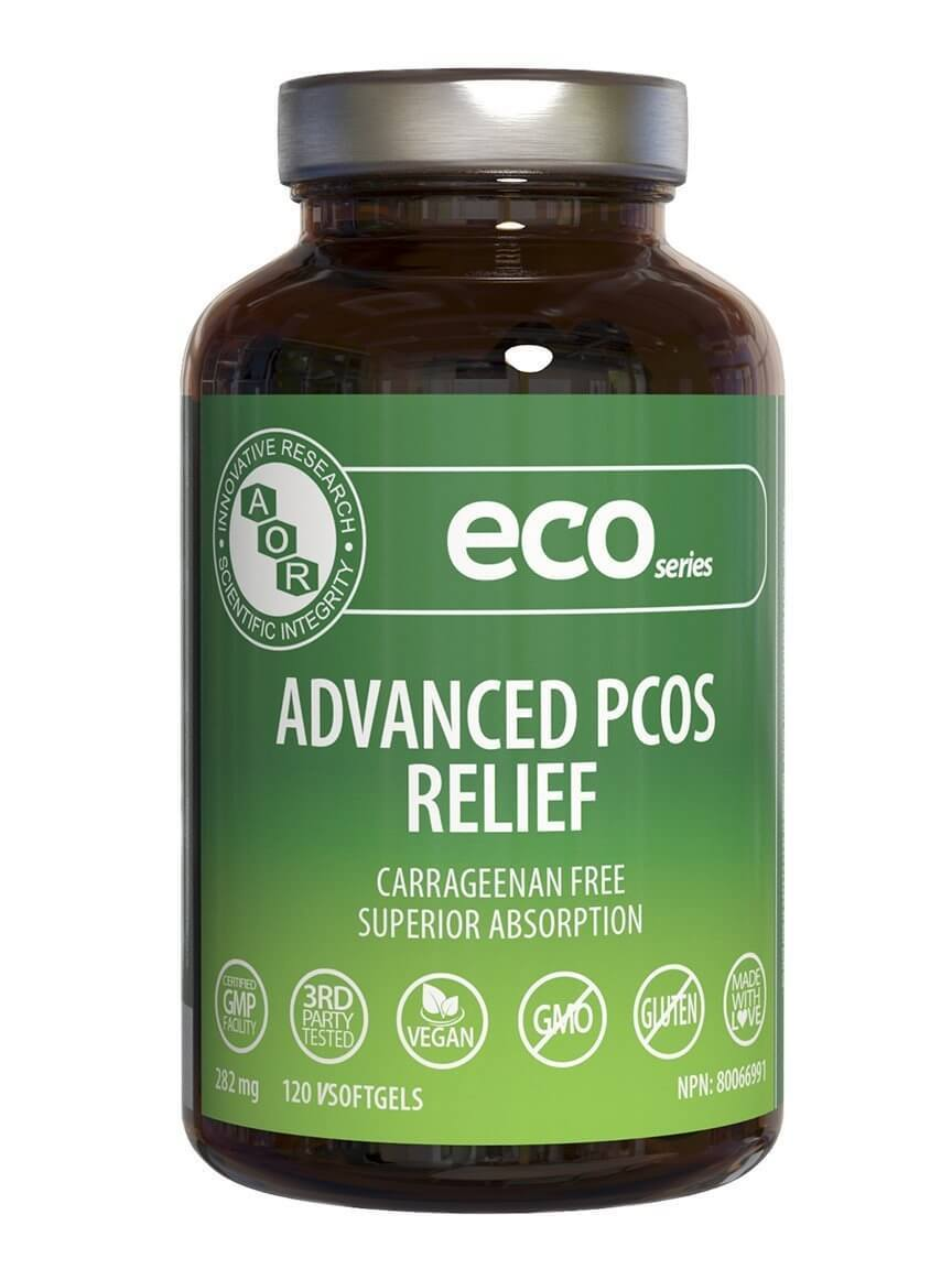 Supplements & Vitamins - AOR - Advanced PCOS Relief, 120 Softgels