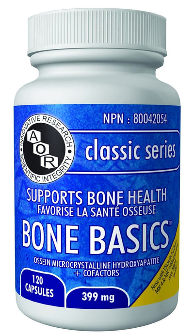 Supplements & Vitamins - AOR - Bone Basics, 120 Caps