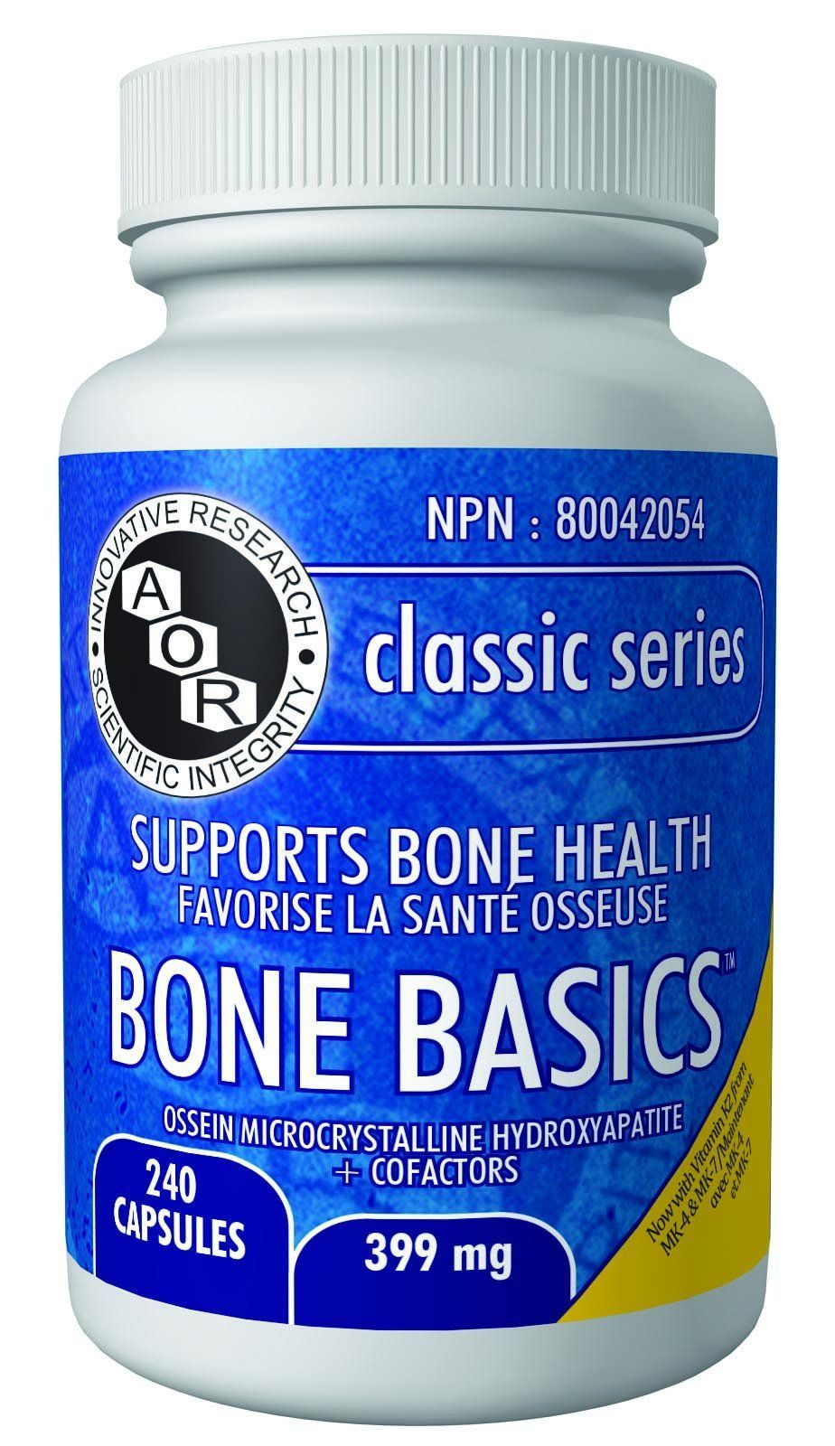 Supplements & Vitamins - AOR - Bone Basics, 240 Caps