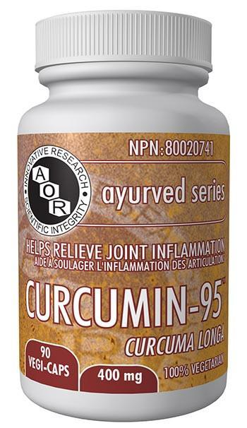 Supplements & Vitamins - AOR - Curcumin-95 400mg, 90 Caps