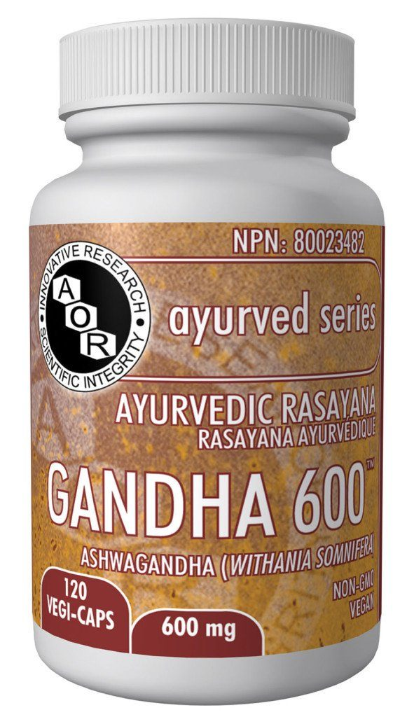 Supplements & Vitamins - AOR - Gandha 600™, 120 Caps