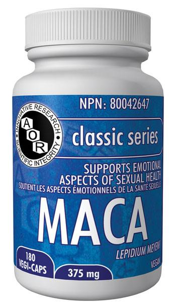 Supplements & Vitamins - AOR - Maca, 180 Caps