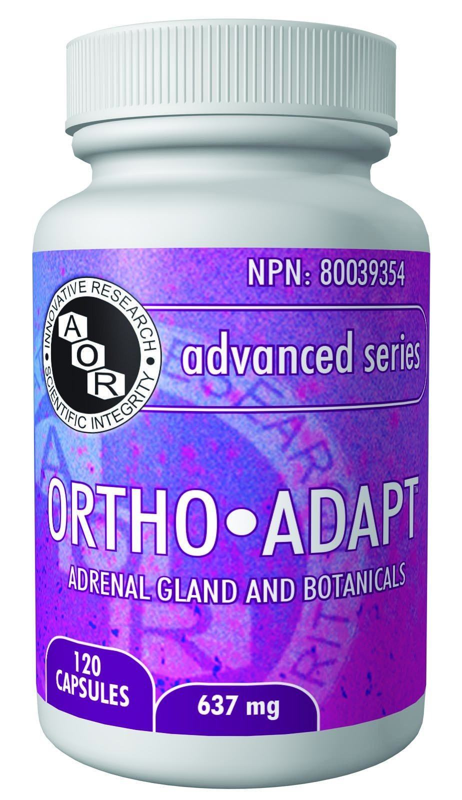 Supplements & Vitamins - AOR - Ortho-Adapt, 120 Caps