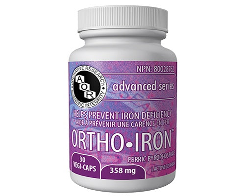 Supplements & Vitamins - AOR - Ortho Iron - 30 Caps