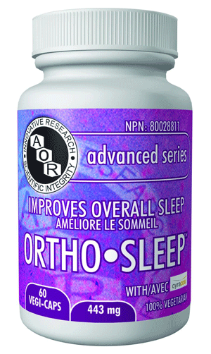 Supplements & Vitamins - AOR - Ortho Sleep, 60 Caps