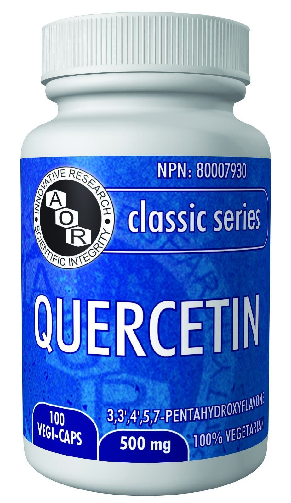 Supplements & Vitamins - AOR - Quercetin, 100 Caps